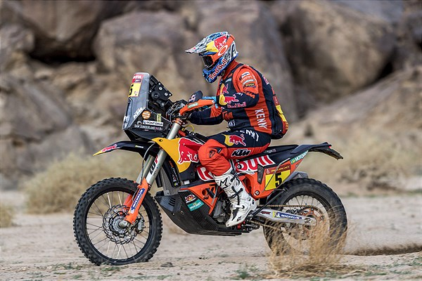 Sam Sunderland - Red Bull KTM Factory Racing - 2021 Dakar Rally Stage 11