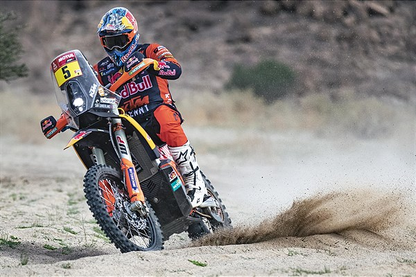 Sam Sunderland - Red Bull KTM Factory Racing - 2021 Dakar Rally Stage 12