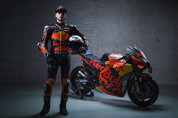 Brad Binder KTM 2021 MotoGP launch