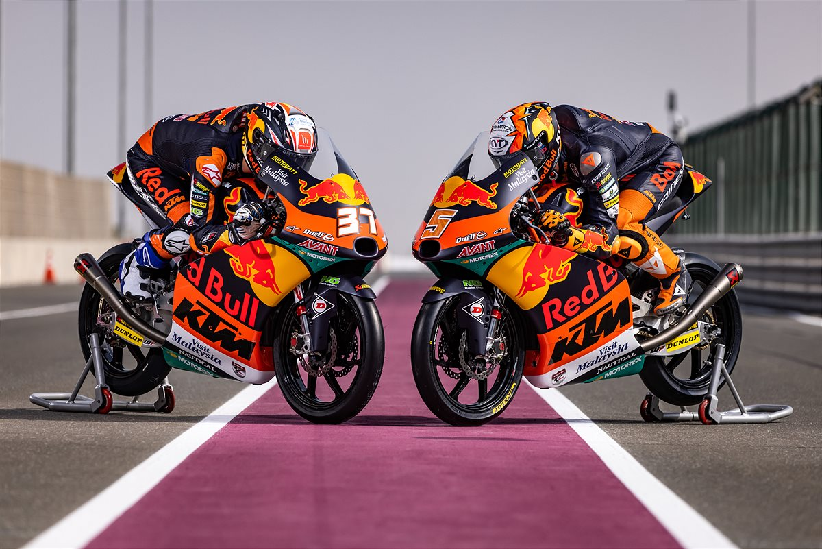 KTM GP Academy poised for gripping 2021 Moto3™ & Moto2™ campaigns - KTM PRESS CENTER