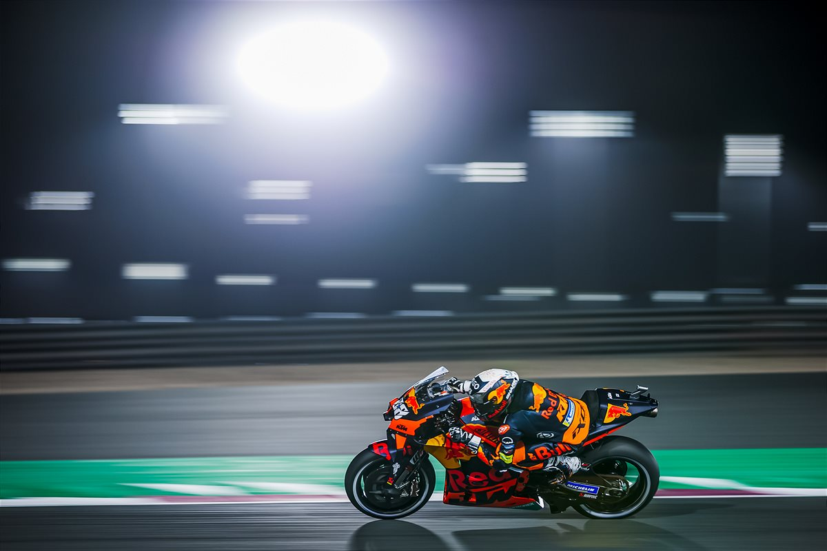 Miguel Oliveira KTM 2021 MotoGP Qatar Qualification