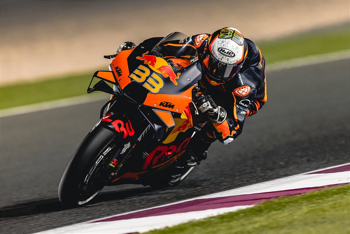 Brad Binder KTM 2021 MotoGP Qatar 2 Qualification