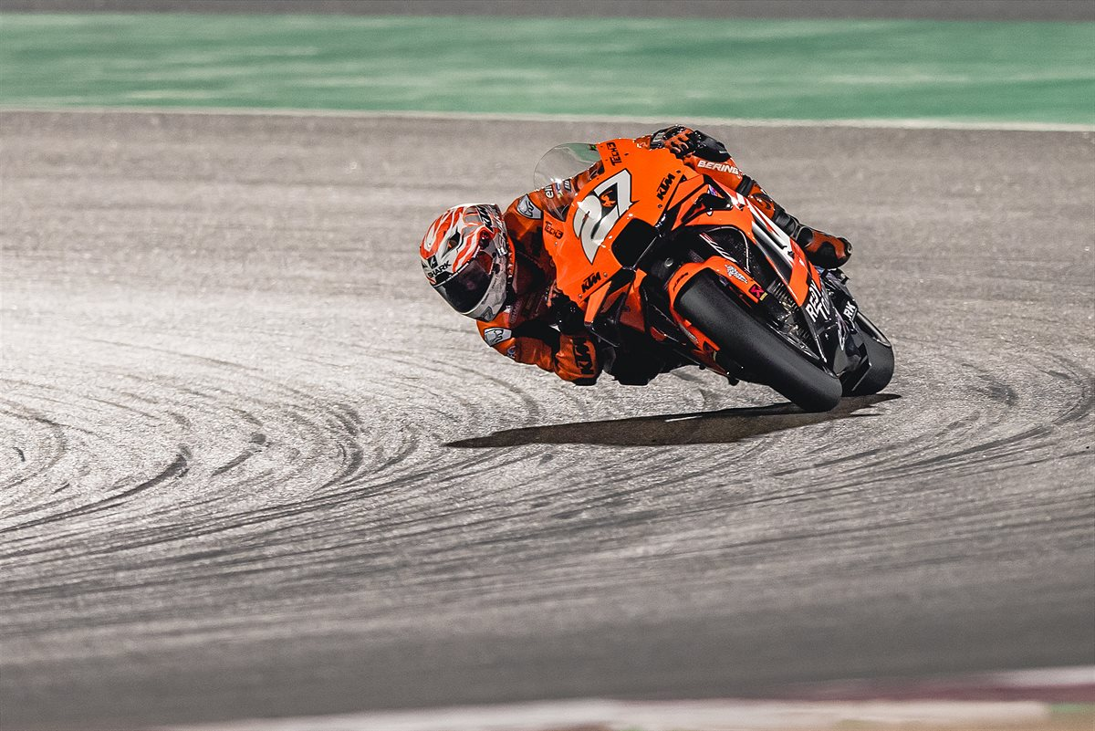 Iker Lecuona KTM 2021 MotoGP Qatar 2 Qualification