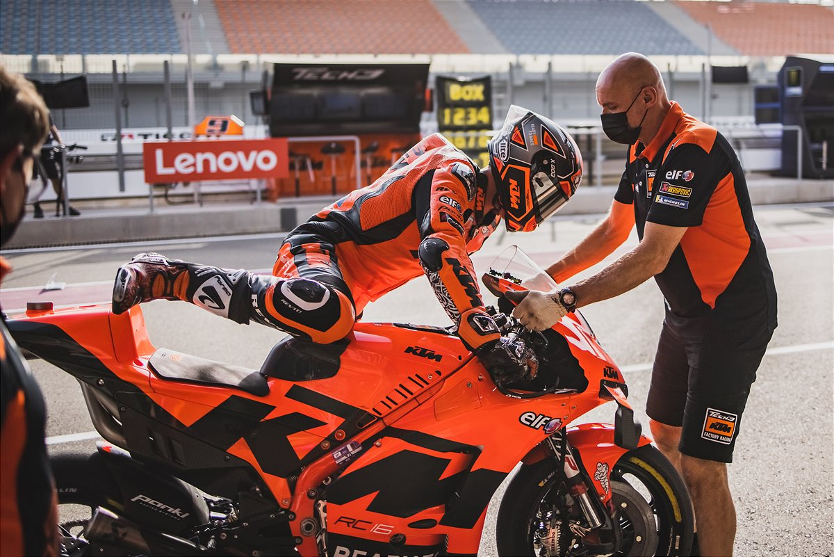 Danilo Petrucci KTM 2021 MotoGP Qatar 2 Qualification