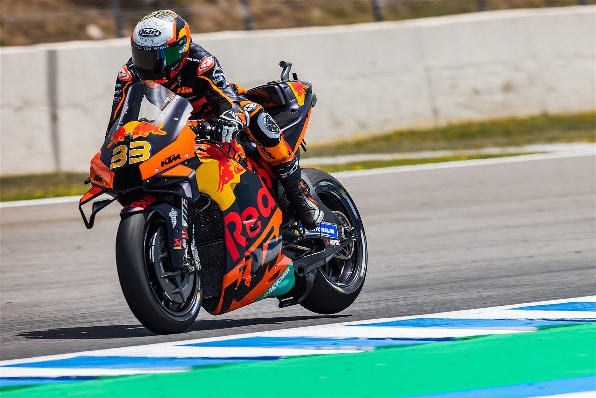 Brad Binder KTM 2021 MotoGP Spain Qualification