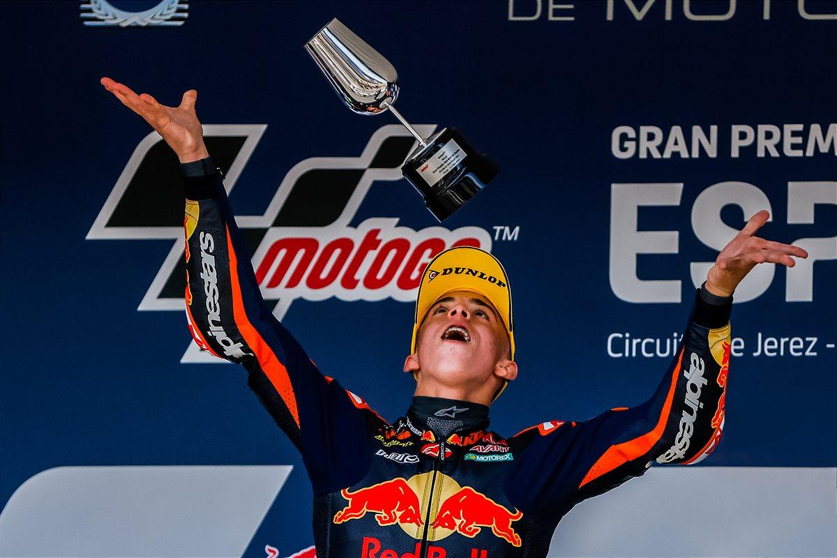 Pedro Acosta Moto3 2021 Spain