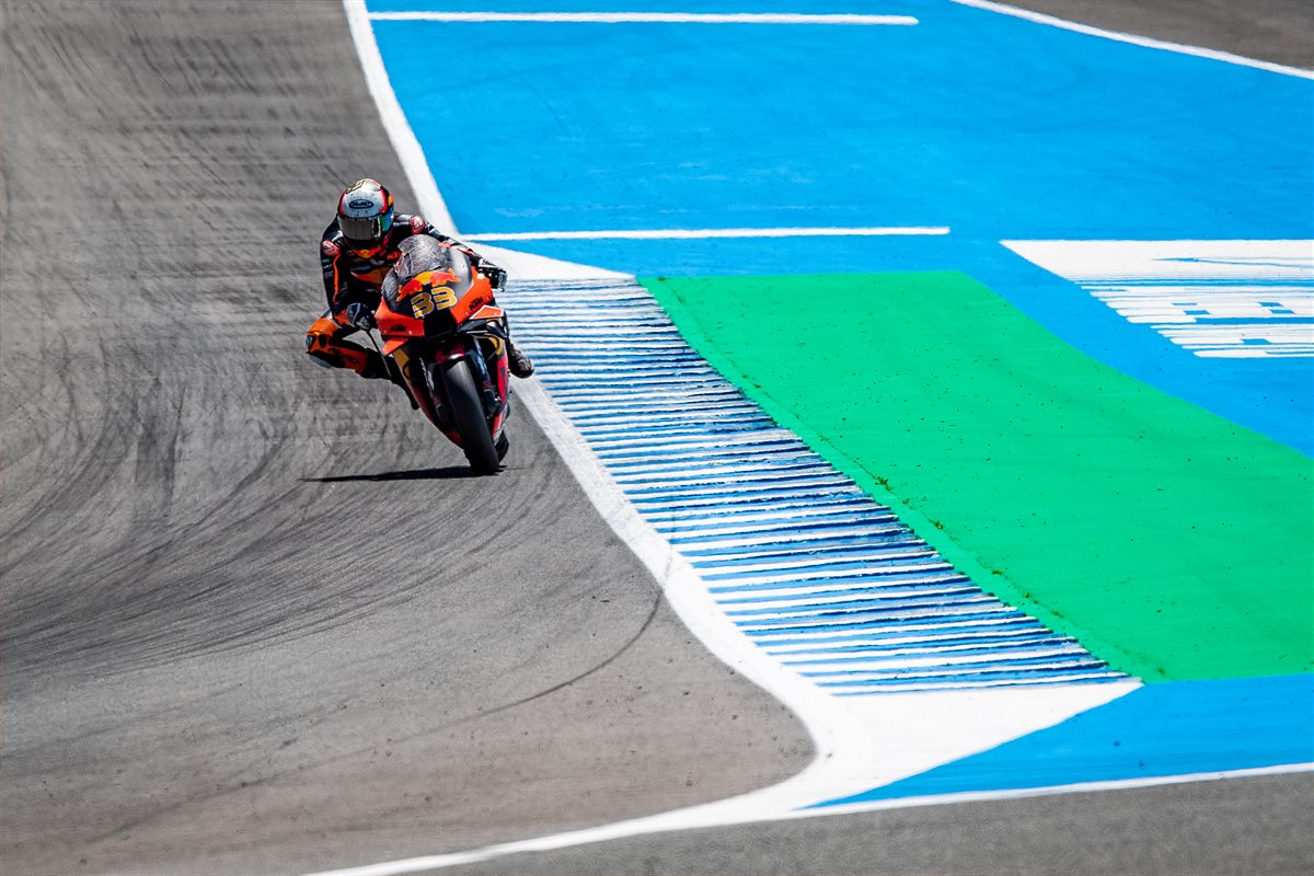 Brad Binder KTM 2021 MotoGP Spain race
