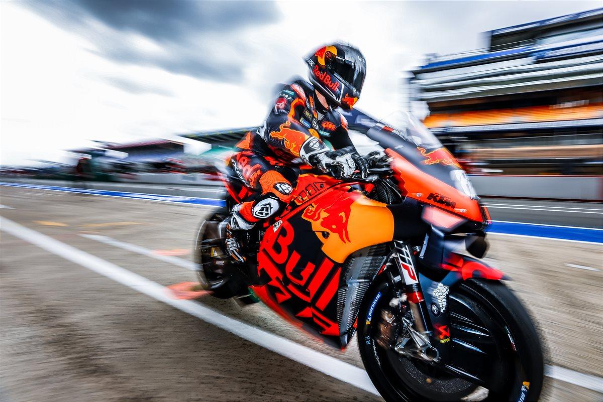 Miguel Oliveira KTM 2021 MotoGP Le Mans Qualification