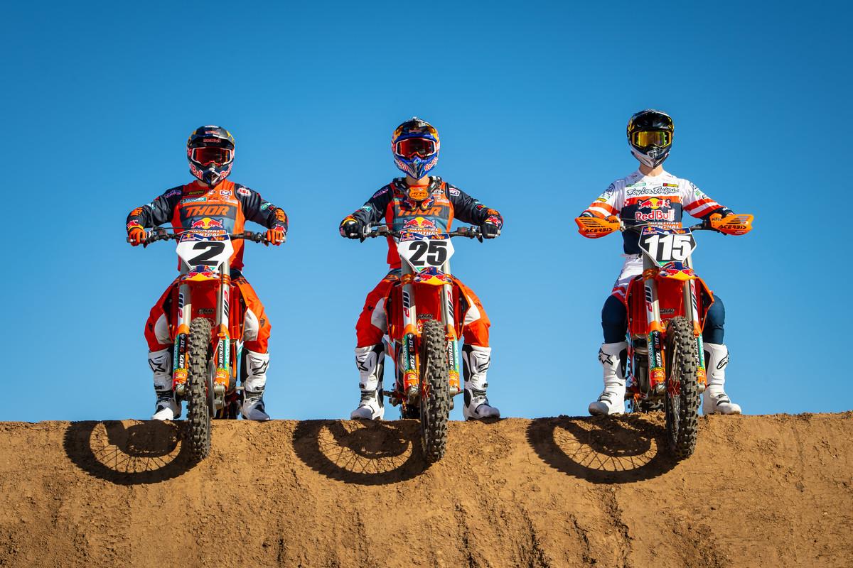 Red Bull KTM Factory Racing Team 2021 MX