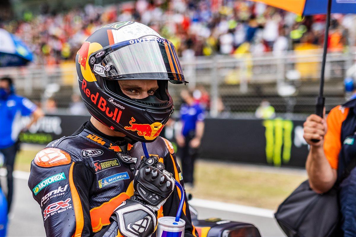 Brad Binder KTM 2021 MotoGP Catalunya race