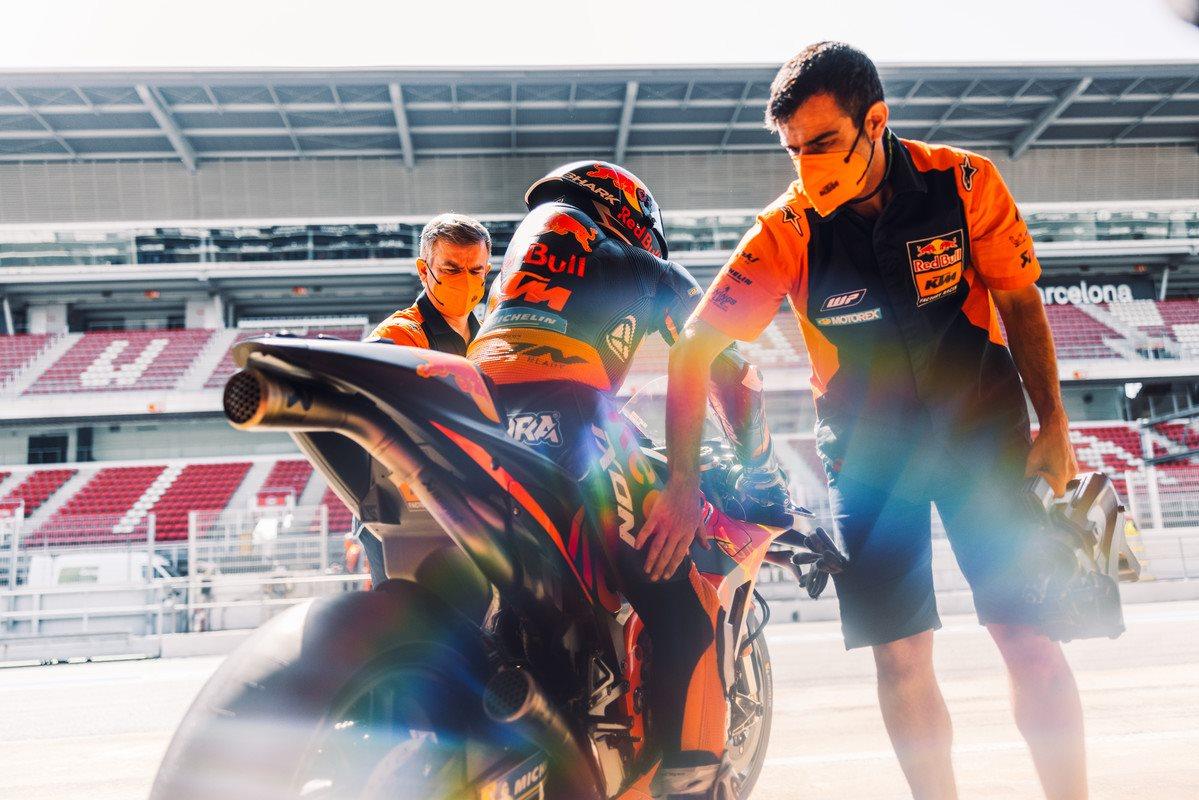 Red Bull KTM Factory Racing Catalunya test