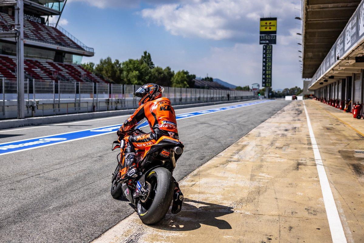 Danilo Petrucci KTM 2021 MotoGP Catalunya test