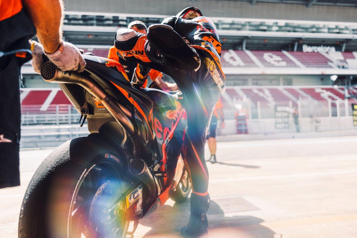 Brad Binder KTM 2021 MotoGP Catalunya test