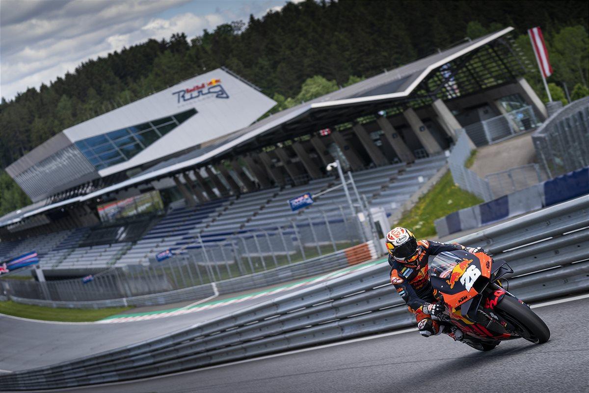 Dani Pedrosa MotoGP 2021 Red Bull Ring race PR