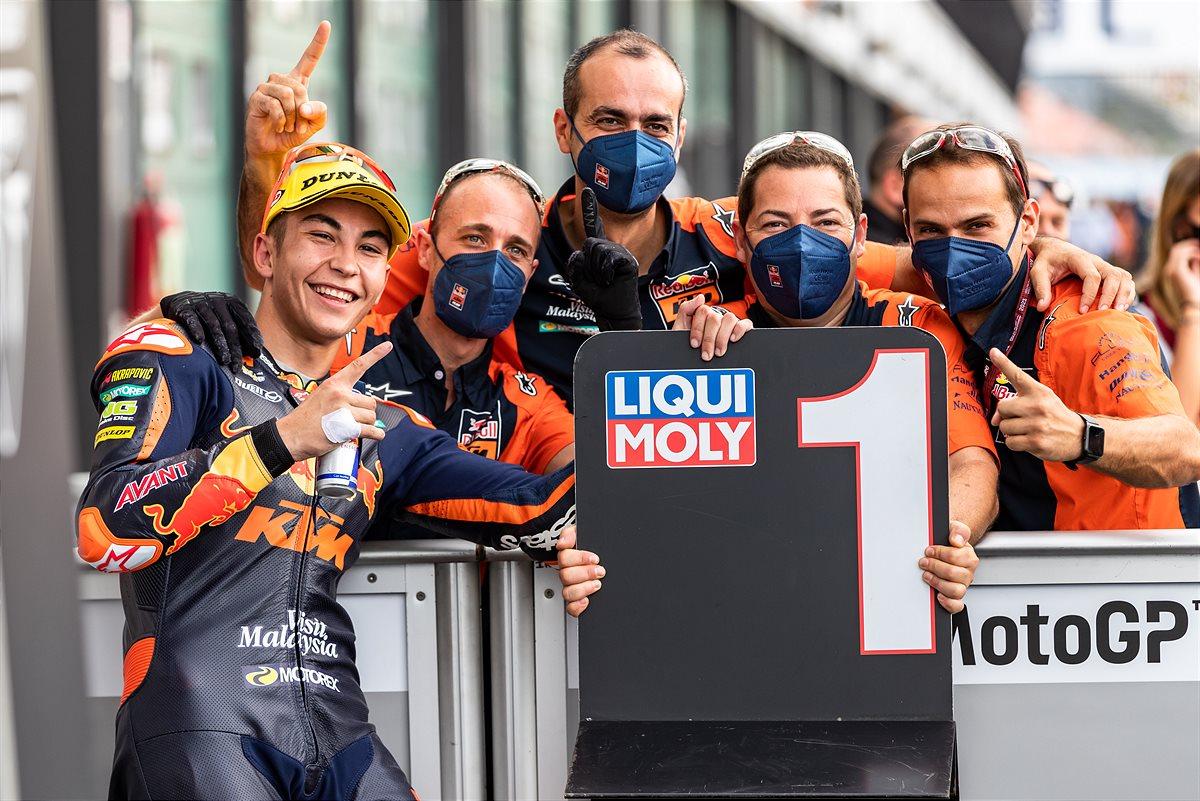 Raul Fernandez Moto2 2021 Misano 1 Qualification