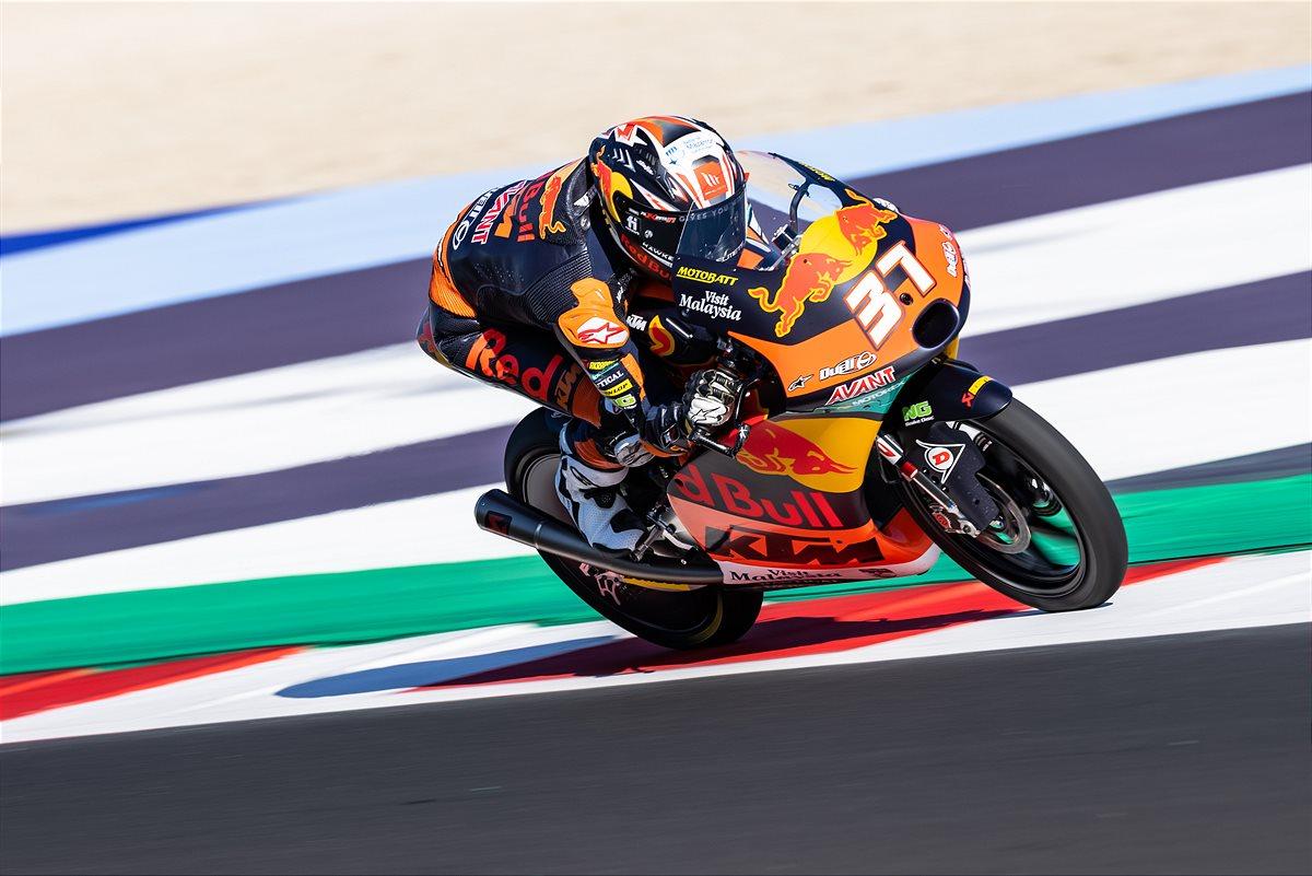 Pedro Acosta Moto3 2021 Misano1 race