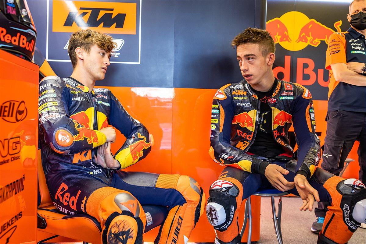 Jaume Masia & Pedro Acosta Moto3 2021 Misano1