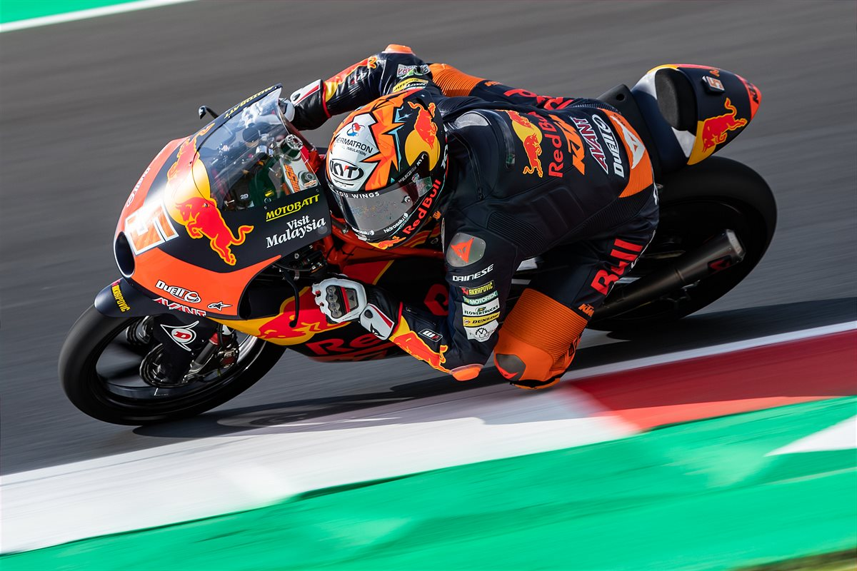 Jaume Masia Moto3 2021 Misano1