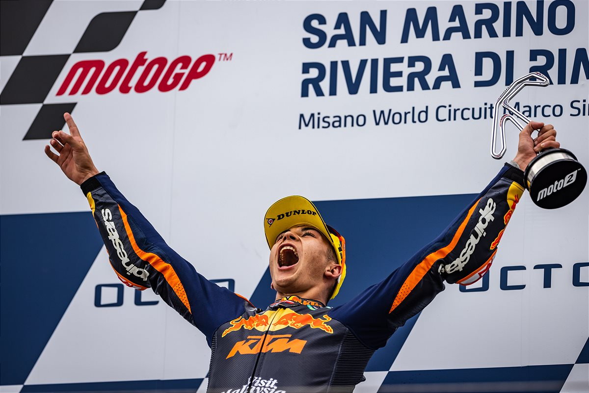 Raul Fernandez Moto2 2021 Misano 1 Race