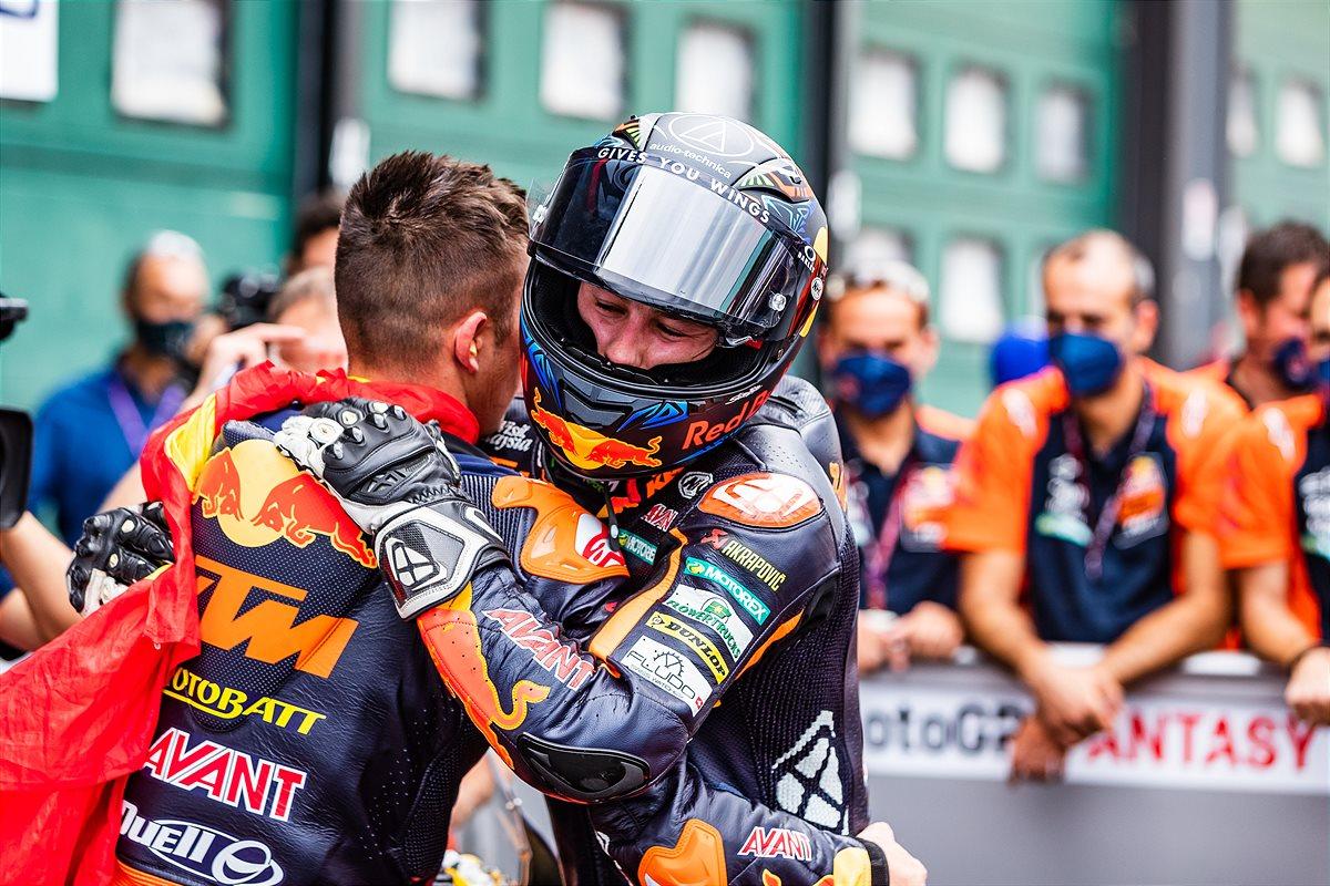 Remy Gardner Moto2 2021 Misano1 Race